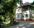 Alkotóház Villa, a kert felől