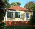 Péchy Villa, a Balaton felé néző homlokzat