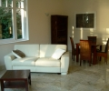 Péchy Villa, Balaton felé tájolt nappali
